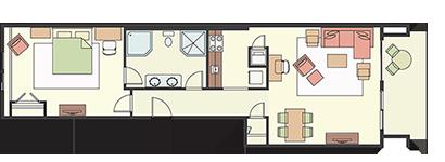 1 Bedroom Type C